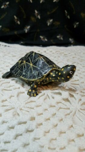 Hand Painted Clay Turtle