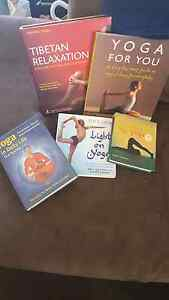 Yoga and relaxation books Cardiff South Lake Macquarie Area Preview
