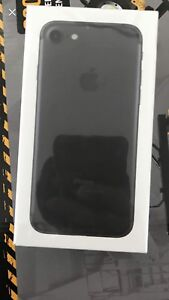 Brand new iphone 7 32gb. BELL