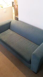 Fantastic Furniture blue 2 seater sofa  Putney Ryde Area Preview