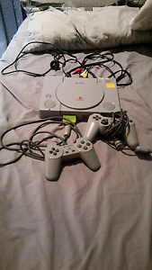 Playstation 1 with 4 games Nudgee Brisbane North East Preview