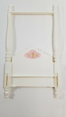 Vintage BARBIE 1982 CANOPY BED Replacement Part Headboard Only