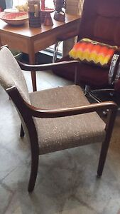 Lovely walnut chair, only $65