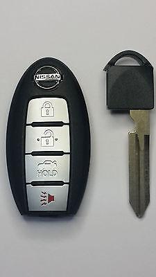 2016 Nissan Altima & Maxima Smart Keyless Entry Remote w/ Insert Emergency Key -