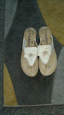 Ladies Wedge Sandals Softlites Size 7