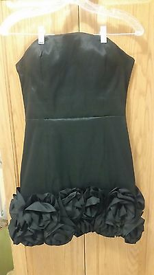 TwentyOne Beautiful Little Black Strapless Dress - Size L