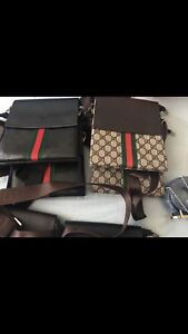 Designer bags side small new leather Gucci , Louis Vuitton