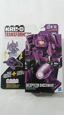KRE-O Transformers Kreon Battle Changer 73 pc Decepticon Shockwave New