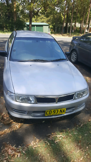 Mitsubishi Lancer manual  2001