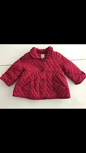 Baby Gap quilted Spring or Fall jacket coat. 6 - 12 months