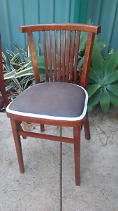 Vintage Ligna Drevounia Bentwood Dining Chairs Czechoslovakia Roleystone Armadale Area Preview