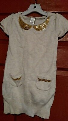 Girls Holiday Dresses Size 7 (Gymboree girls holiday shine Sweater dress size 7)