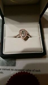 One of a kind Rose Gold Diamond Engagement Ring Maryland Newcastle Area Preview