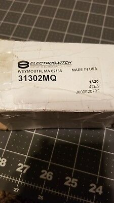 31302mq Electroswitch Switch New Never Installed.
