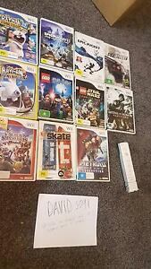 Nintendo Wii games & Wii console bundle St Agnes Tea Tree Gully Area Preview