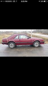 Parting out rare 1982 ford mustang gt 4 speed