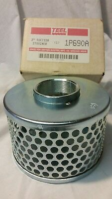 Teel 1p690a 2 Suction Strainer Water Pump Dayton Electric Nos