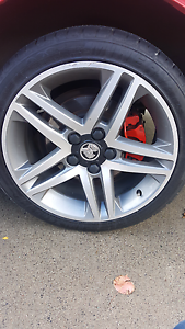 Commodore ve/sv6 alloy wheels and tyres Hallam Casey Area Preview