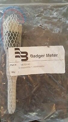 Badger 8 Rtd-140 8rtd140 4 Immersion Sensor. Bx107