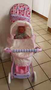DOLLS PRAM + DOLL Waterford West Logan Area Preview