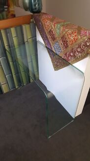 Glass Side Table As New Lane Cove West Lane Cove Area Preview