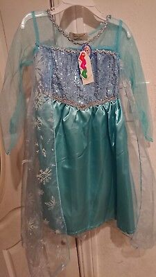 Frozen Queen Elsa Girls Halloween Costume