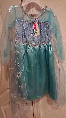 Frozen Queen Elsa Girls Halloween Costume - Halloween Costumes Elsa Frozen