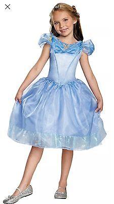 Girl Cinderella Halloween costume Disney Princess Toddler/ Child Size XS (3T-4T)](Cinderella Halloween Costume 3t)
