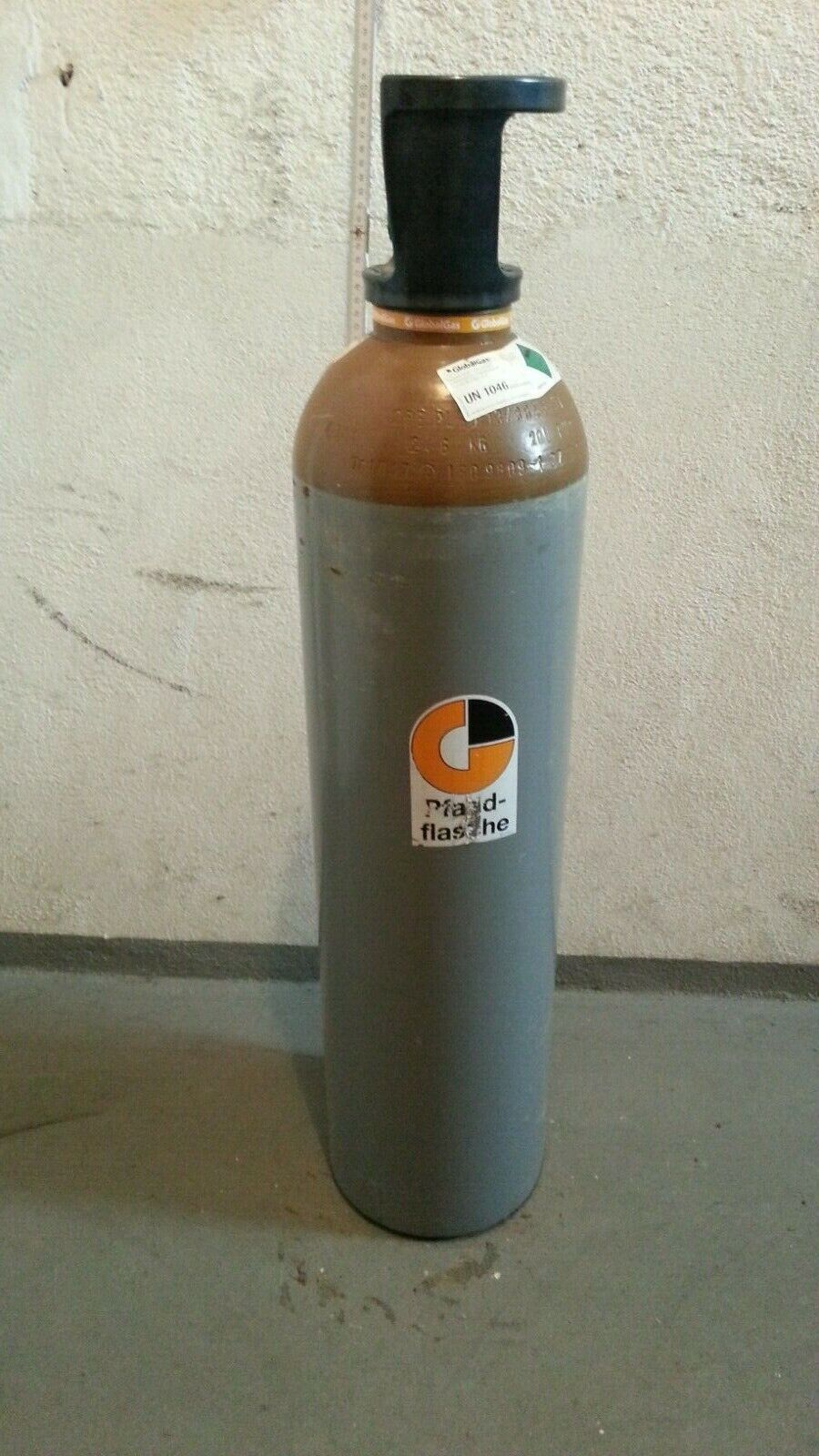 Gasflasche Ballongas Helium 20 Liter NEU