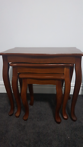 3 in 1 Coffee table bedside wooden antique dining brown Brighton-le-sands Rockdale Area Preview