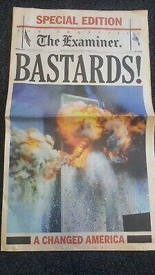 San Francisco Examiner 9-11 issue