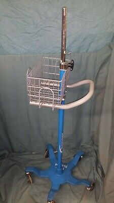 Dinamap Patient Monitor Rolling Stand Medical Cart Surgical Medical Hospital Vet