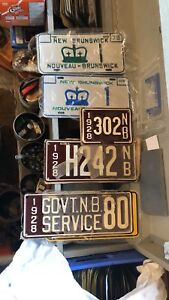 Early and rare license plates for sale