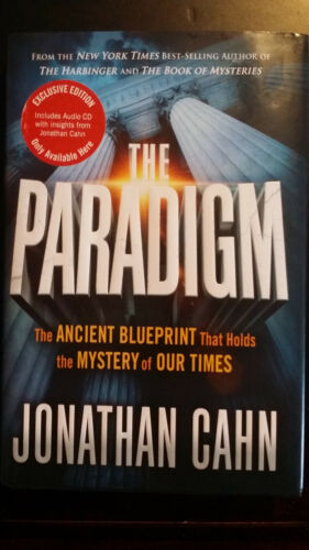 The Paradigm: Exclusive Edition Hardcover + Audio CD from author Jonathan Cahn