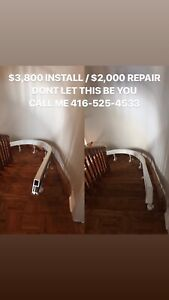Stairlift Installs Service & Removals{Acorn Stair Lift Chairlift
