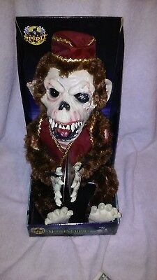 American Horror Story MONKEY CHIMES Animated Prop RARE Spirit Halloween NEW (Halloween History Animation)