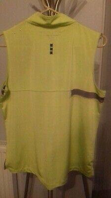 Jamie Sadock Active wear Lime Green/Grey Size Large