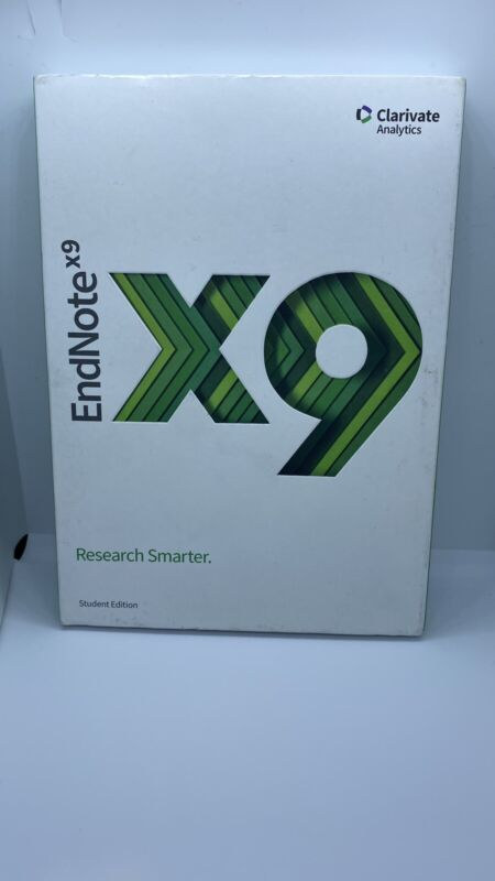 Endnote X9 Full Version Student Edition