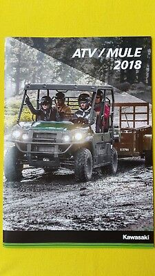 Kawasaki ATV & Mule Brute Force 750 SX Pro DX sales brochure catalogue 2018 MINT