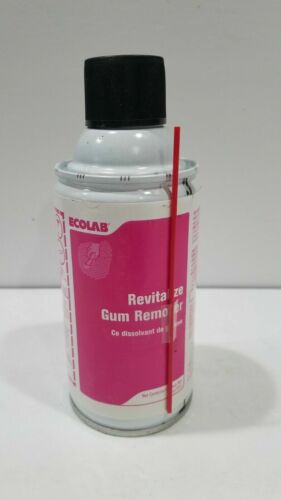 1 Can Ecolab Revitalize Gum & Candle Wax Remover - 6 oz NEW
