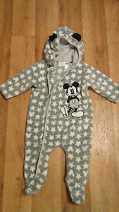 Mickey mouse size 0 onesie Pennington Charles Sturt Area Preview