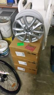 Brand new Mazda 3 wheels