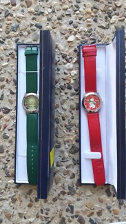 2 x Christmas watches..... (new Batteries)