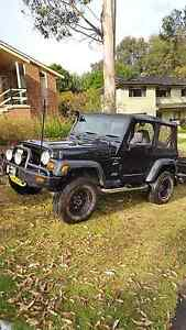 1999 Jeep Wrangler TJ Manual Winmalee Blue Mountains Preview