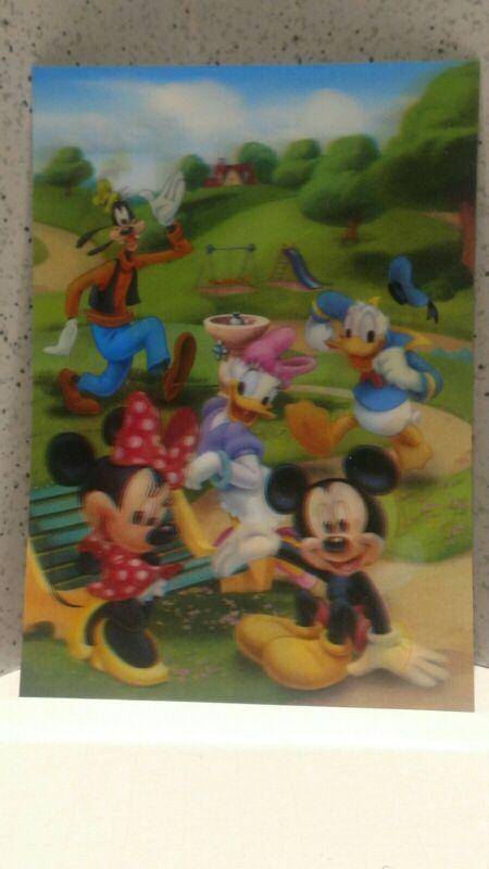 """Disney Movie Club 3D Lenticular Card """"Disney Movie Club"""" Original Card"""