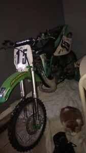 Racing ready 2003 KX 85 dirt bike 2 stroke