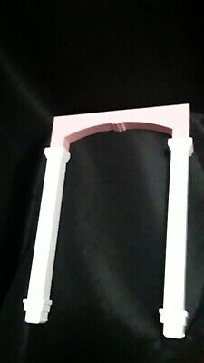 """BARBIE Dream House 2015 Replacement 14"""" Archway And Posts For Bedroom"""