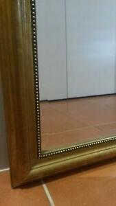 Gold Rectangle Mirror 100cm x 80cm