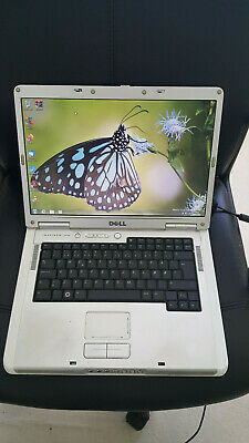 """Dell Inspiron 6400 Laptop Notebook Silver 15.4"""" 2GB 320GB Windows 7 Open Office"""