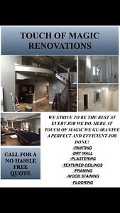 Painting, drywall,flooring and more
